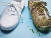 Giày màu cháo lòng bẩn mấy cũng trắng tinh nhờ mẹo này!