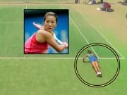 """Thể thao - Trò hề tennis: """"Mỹ nhân kế"""" câu giờ, thua vẫn hoàn thua"""