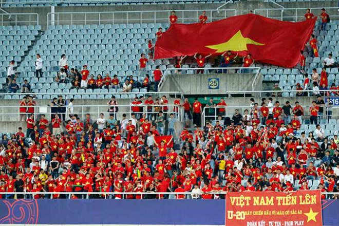 U20 Việt Nam ghi điểm ở World Cup: Chiến đấu đầy cảm xúc - 1