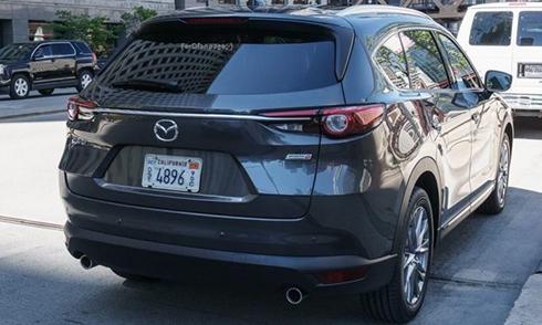 Những hình ảnh đầu tiên của Mazda CX-8 tại Mỹ - 1