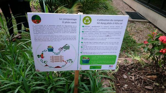 """""""Khu vườn bí mật"""" trong Đại sứ quán Pháp ở Hà Nội - 11"""