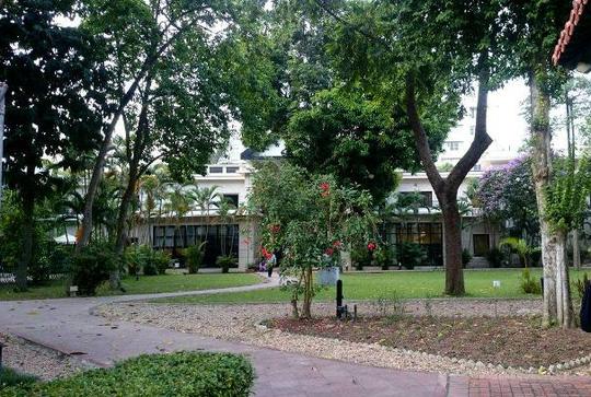 """""""Khu vườn bí mật"""" trong Đại sứ quán Pháp ở Hà Nội - 13"""
