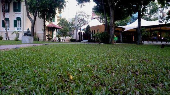 """""""Khu vườn bí mật"""" trong Đại sứ quán Pháp ở Hà Nội - 14"""