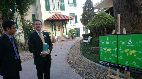 """""""Khu vườn bí mật"""" trong Đại sứ quán Pháp ở Hà Nội - 2"""