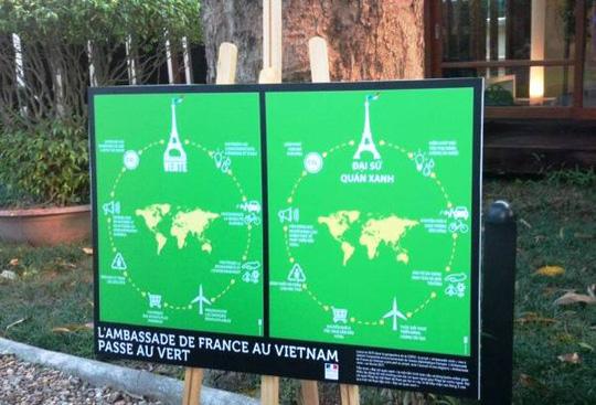 """""""Khu vườn bí mật"""" trong Đại sứ quán Pháp ở Hà Nội - 3"""