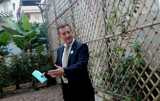 """""""Khu vườn bí mật"""" trong Đại sứ quán Pháp ở Hà Nội - 4"""