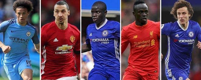 Kante, Ibra, Pogba dẫn đầu top 10 tân binh Premier League - 1