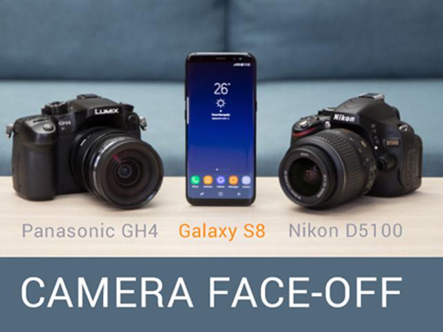 """Máy ảnh chuyên nghiệp cũng """"ngán ngẩm"""" với tài chụp hình của Galaxy S8"""
