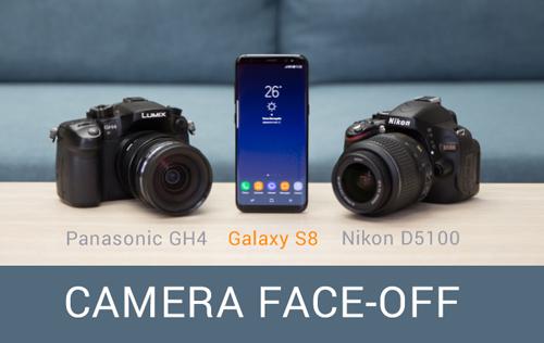 """Máy ảnh chuyên nghiệp cũng """"ngán ngẩm"""" với tài chụp hình của Galaxy S8 - 1"""