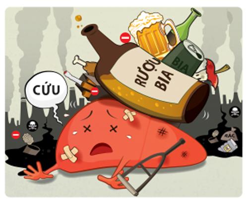 Cách cực đơn giản để hết ngay đau đầu, mệt mỏi và nhanh say rượu bia - 1