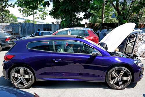 Xe thể thao Volkswagen Scirocco R 2017 đến Việt Nam - 2