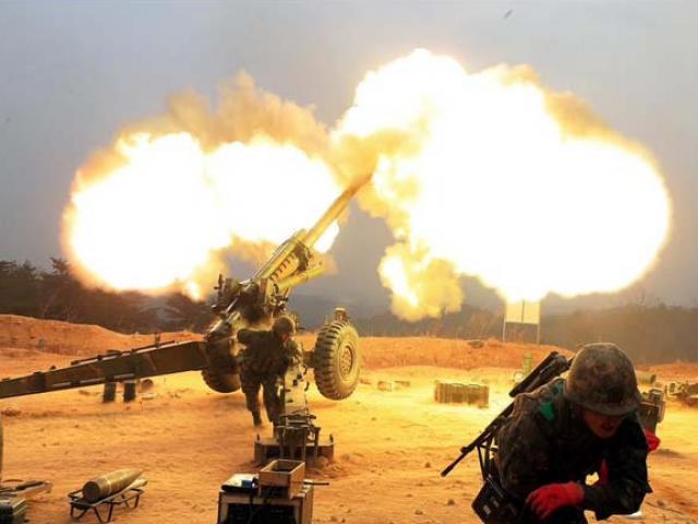 Hàn Quốc bất ngờ nổ súng cảnh cáo về phía Triều Tiên
