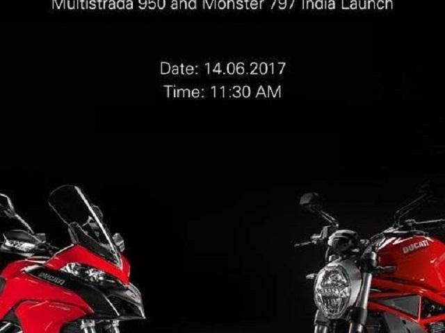 Ducati Multistrada 950 và Monster 797 sắp