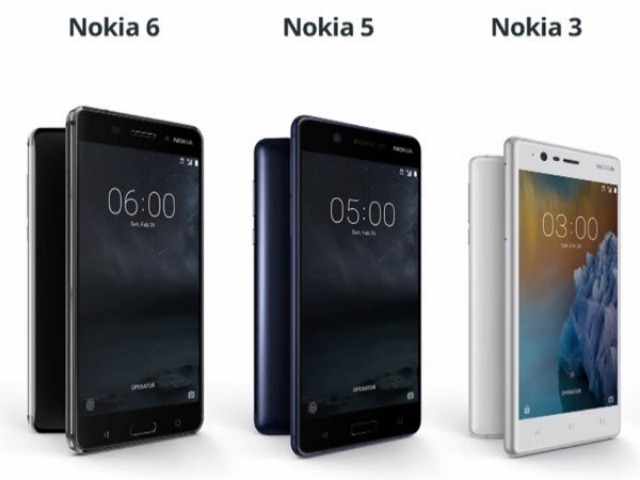 Đã có giá bộ ba Nokia 3, 5, 6 tại Việt Nam