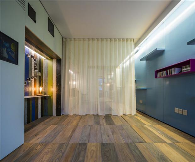 """Giấu nội thất dưới sàn, căn hộ 30m2 trở nên """"thênh thang"""" khó tin - 11"""