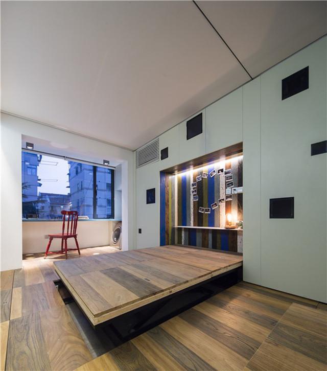 """Giấu nội thất dưới sàn, căn hộ 30m2 trở nên """"thênh thang"""" khó tin - 10"""