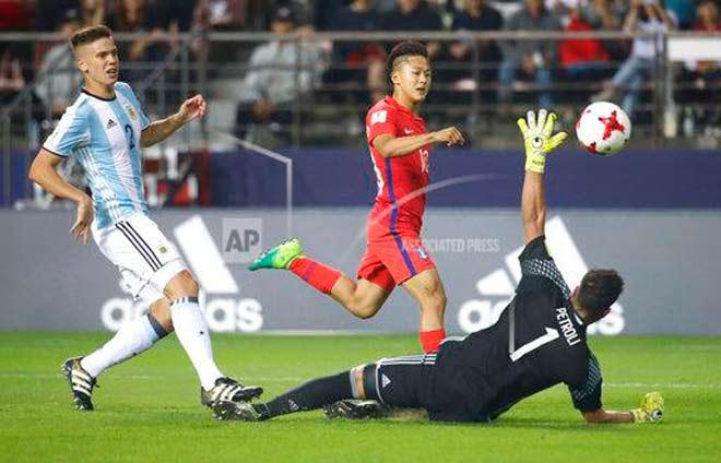 U20 World Cup ngày 4: Argentina nguy cơ loại sớm, Anh - Đức gặp sầu
