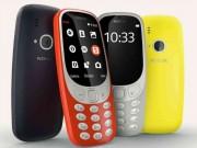 """Thời trang Hi-tech - Nokia 3310 mới đã """"cháy"""" hàng tại Việt Nam"""