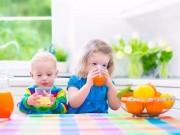 Viện Hàn lâm Nhi khoa Mỹ ra khuyến cáo mới về nước ép trái cây cho trẻ