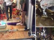 An ninh Xã hội - Xông vào shop quần áo chém đôi nam nữ do ghen tuông