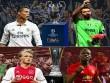 """Real - Juventus, MU - Ajax: Xứng danh  """" tứ đại thiên vương """"  (Infographic)"""