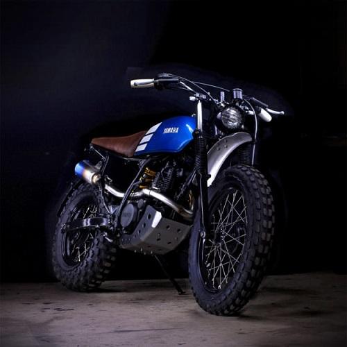 """Ngắm vẻ đẹp đầy """"ma mị"""" của Yamaha TW200 - 1"""