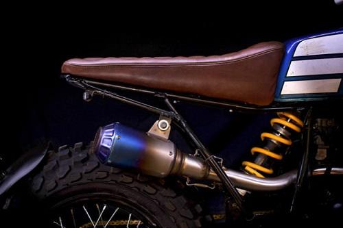 """Ngắm vẻ đẹp đầy """"ma mị"""" của Yamaha TW200 - 7"""