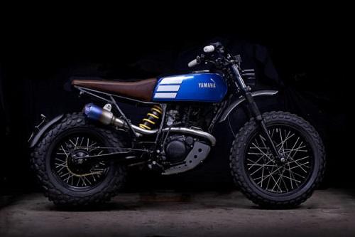 """Ngắm vẻ đẹp đầy """"ma mị"""" của Yamaha TW200 - 3"""