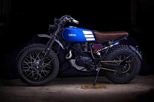 """Ngắm vẻ đẹp đầy """"ma mị"""" của Yamaha TW200 - 8"""