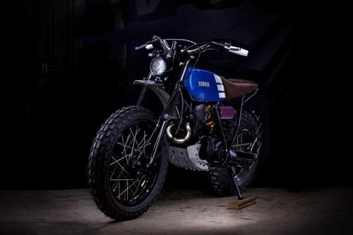"""Ngắm vẻ đẹp đầy """"ma mị"""" của Yamaha TW200 - 4"""