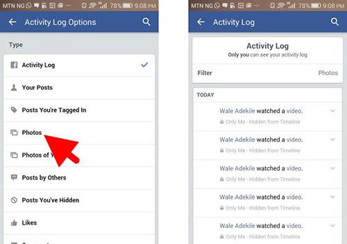 Tìm kiếm các bài đăng cũ trên dòng thời gian của Facebook - 3