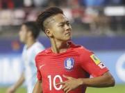 """Bóng đá - U20 World Cup: """"Messi Hàn"""" ghi siêu phẩm solo kiểu Maradona"""