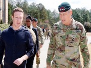 Ảnh: Zuckerberg trên hành trình thực hiện mục tiêu năm 2017