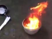 Thông tin mới nhất vụ giếng nước bốc cháy