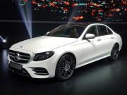 Mercedes ra mắt E250 và E300 lắp ráp tại Việt Nam