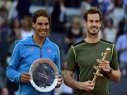 Thể thao - Tin thể thao HOT 24/5: Murray thách thức Nadal trước Roland Garros