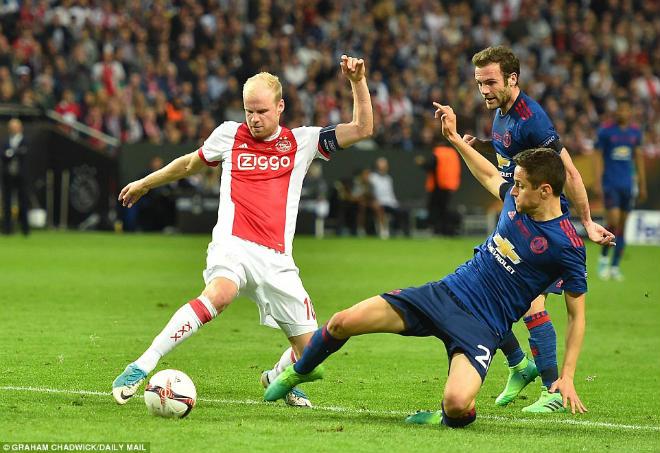 """Góc chiến thuật MU – Ajax: """"Cáo già"""" Mourinho phủ đầu săn cúp - 1"""