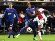 Bóng đá - Chi tiết MU – Ajax Amsterdam: An toàn là trên hết (KT)