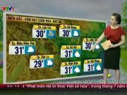 Tin tức trong ngày - Dự báo thời tiết VTV 25.5: Bắc Bộ giảm mưa, Trung Bộ mưa to