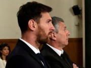 Tòa tuyên án: Messi y án tù 21 tháng vì trốn thuế