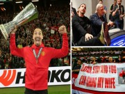 """MU vô địch: Fan  """" dâng tặng """"  cả vợ để xin Ibrahimovic ở lại"""