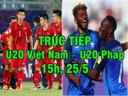 Bóng đá - Chi tiết U20 Việt Nam – U20 Pháp: Tiến Dũng xuất thần (KT)