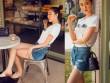Gái đẹp xứ Huế gợi ý style soóc ngắn thay cho áo dài thùy mị