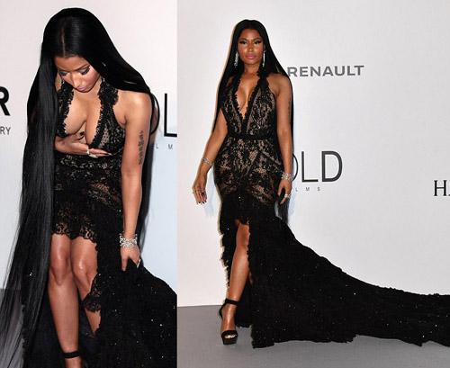 """Kiều nữ """"hot"""" nhất Hollywood mặc váy trong suốt gây sốc - 11"""