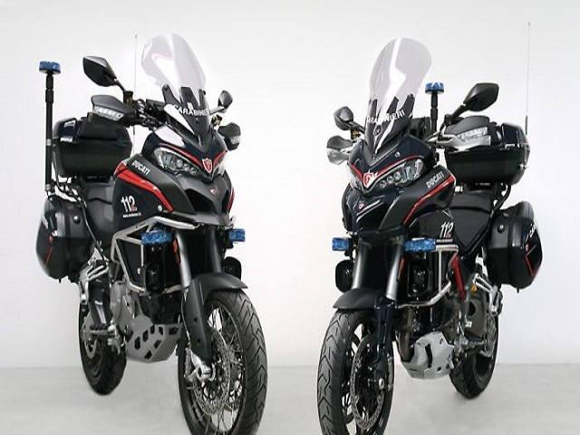 Cảnh sát Ý tuyển hàng khủng Ducati Multistrada 1200S