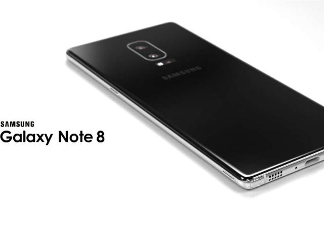 Lộ video màn hình Galaxy Note 8