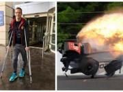 Thể thao - Kỳ tích: Tai nạn xe đua 372km/h, trở về từ địa ngục sau 4 ngày