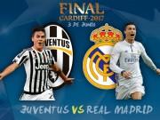 Bóng đá - Chung kết cúp C1 Real - Juventus: Siêu đinh ba đấu kiềng 3 chân