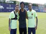 """Chung kết cúp nhà vua: Barca nhờ Ro  """" vẩu """"  tiếp lửa cho Messi"""