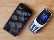 Dế sắp ra lò - Nokia 3310 đọ camera iPhone 7: Đâu là trứng, đâu là đá?